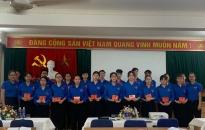 Đoàn phường Thường Lý (Hồng Bàng): Kết nạp 20 Đoàn viên mới