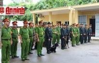 Kiểm tra, đánh giá công tác huấn luyện động vật nghiệp vụ 6 tháng đầu năm 2020