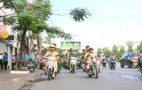 CAQ Lê Chân: Ra quân bảo đảm an toàn giao thông, trật tự đường hè, vệ sinh môi trường trên các tuyến phố