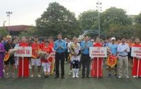 52 đội tham gia Giải bóng đá Công đoàn Khu Kinh tế Hải Phòng-Hezu Cup 2020