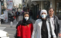 Dịch viêm đường hô hấp cấp COVID-19: Số ca mắc bệnh ở Iran vượt mốc 180.000 người