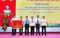 Huyện Vĩnh Bảo: Khen thưởng 241 tập thể, cá nhân trong phong trào thi đua yêu nước