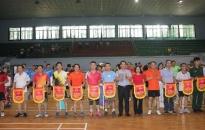 Giải cầu lông quận Ngô Quyền năm 2020