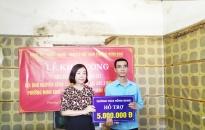 Phường Minh Khai: Sửa chữa nhà Đại đoàn kết tặng hộ cận nghèo