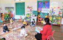 Tạm dừng dạy hè tại các cơ sở giáo dục mầm non