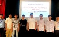 Kỳ thi Olympic Tin học Châu Á - Thái Bình Dương năm 2020: Học sinh Trường THPT chuyên Trần Phú giành Huy chương Đồng