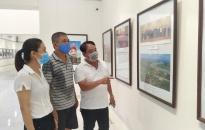 """Trung tâm Thông tin, Triển lãm và Điện ảnh: Triển lãm """"75 năm vang mãi hào khí cách mạng tháng Tám và Quốc khánh 2-9"""""""