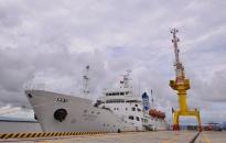 Trường Đại học Hàng hải Việt Nam tiếp nhận tàu huấn luyện Hannara do Chính phủ Hàn Quốc trao tặng