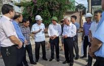 Dự án đầu tư xây dựng trục đường Hồ Sen – Cầu Rào 2 (giai đoạn 2):  Tập trung cao công tác thi công đẩy nhanh tiến độ