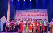 Trung tâm Văn hóa thành phố: Thành lập các câu lạc bộ nghệ thuật truyền thống dân gian