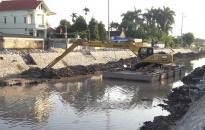 Phấn đấu hết tháng 10 đưa Dự án cải tạo hệ thống kênh Nhu Kiều, xã Quốc Tuấn (An Dương) vào khai thác