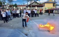 Tăng cường tuyên truyền, huấn luyện kỹ năng phòng cháy, chữa cháy