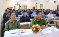 Khai mạc lớp huấn luyện nghiệp vụ cho lực lượng bảo vệ cơ quan, doanh nghiệp