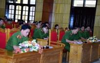 Khai giảng lớp tập huấn nghiệp vụ công tác QLHC về TTXH cho lực lượng Công an xã chính quy