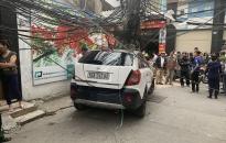 Về vụ tai nạn giao thông liên hoàn xảy ra tại ngõ 164 Chùa Hàng