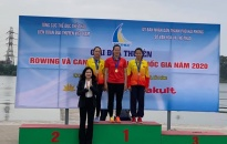 Gần 400 vận động viên tham gia giải đua thuyền Rowing và Canoeing vô địch quốc gia năm 2020