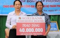 Agribank chi nhánh Đông Hải Phòng:  Khánh thành nhà tình nghĩa tặng hộ nghèo quận Kiến An