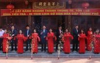 Phường Hưng Đạo (Dương Kinh): Khánh thành công trình trùng tu Đình Tiểu Trà