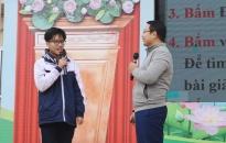 Tư vấn hướng nghiệp và tâm lý lứa tuổi cho trên 1.300 học sinh Trường THPT Hồng Bàng