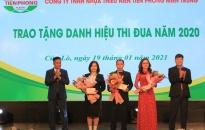 Doanh thu Công ty Nhựa Thiếu niên Tiền Phong miền Trung đạt 140%