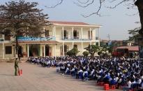 Tuyên truyền phòng cháy chữa cháy và ATGT cho hơn 800 học sinh