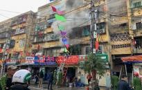 Về vụ cháy nhà tại khu 5 tầng Tôn Đức Thắng, phường An Dương, Lê Chân: Giải cứu an toàn cháu bé 5 tuổi
