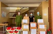 Đội Cảnh sát Giao thông - Trật tự Công an quận Hồng Bàng mang mùa xuân đến Làng trẻ Hoa Phượng