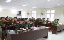 Phòng Cảnh sát Thi hành án Hình sự & Hỗ trợ tư pháp – CATP : Tập huấn công tác bảo vệ bí mật nhà nước
