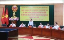 Uỷ ban MTTQ Việt Nam thành phố hội nghị hiệp thương lần thứ 3:  Lựa chọn, lập danh sách những người đủ tiêu chuẩn ứng cử đại biểu Quốc hội khoá XV, đại biểu HĐND TP khoá XVI