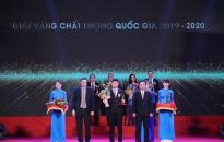 Công ty CP Nhựa Thiếu niên Tiền Phong: Lần thứ 2 nhận Giải vàng giải thưởng chất lượng quốc gia