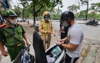 Công an quận Lê Chân:  Kiểm tra 135 trường hợp vi phạm trật tự an toàn giao thông