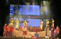 """Thẩm định vở kịch """"Mặt trời quê hương""""- câu chuyện về hình tượng anh hùng thiếu niên Phạm Ngọc Đa phát sóng vào 28-8 tới"""
