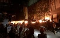 Thông tin về vụ cháy lớn tại chợ Núi Đèo (Thủy Nguyên)