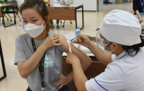 Triển khai tiêm vắc xin phòng Covid-19 cho khoảng 220.000 trẻ từ 12-17 tuổi