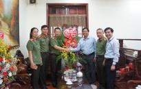 Lãnh đạo CATP chúc mừng ngày Nhà giáo Việt Nam