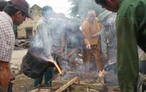 Lễ đúc 2 bức tượng Thành hoàng làng đình Đông, Kiến Thiết (Tiên Lãng)
