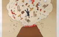 """""""Nghệ sĩ Jiří Slíva – Café Nonsens"""" :Triển lãm tranh đồ họa đậm chất hài hước"""