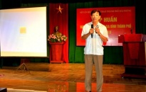 Tập huấn nghiệp vụ công tác gia đình thành phố Hải Phòng năm 2018