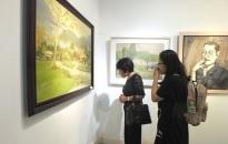 Triển lãm Mỹ thuật Hải Phòng 2018 tại Hà Nội: Trưng bày 74 tác phẩm xuất sắc