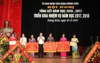 Quận Dương Kinh, Nâng cao chất lượng đội ngũ nhà giáo và cán bộ quản lý giáo dục các cấp
