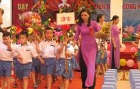Trường tiểu học Đằng Giang đón Bằng công nhận trường đạt chuẩn quốc gia mức độ 2