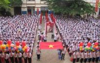 Trường THCS Hồng Bàng khai giảng năm học mới