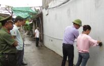 Dự án đầu tư cơ sở hạ tầng Khu tái định cư Đông Hải 1: Cưỡng chế kiểm đếm bắt buộc đối với 7 hộ dân
