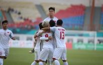 Toàn thắng , Olympic Việt Nam giành ngôi đầu bảng D Asiad 2018