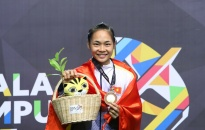 Phạm Thị Tươi, VĐV Hải Phòng đầu tiên giành HCV SEA Games 29