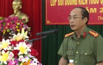 Công an tỉnh Thái Bình: Bồi dưỡng kiến thức Quốc phòng - An ninh đối với 100 CBCS