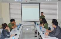 Tập huấn sử dụng hệ thống khai báo, tiếp nhận thông tin tạm trú NNN tại Khách sạn Mercure Hải Phòng