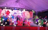 Huyện Kiến Thụy tổ chức văn nghệ chào mừng các ngày lễ lớn, hưởng ứng Lễ hội Hoa Phượng đỏ