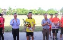 Huyện Kiến Thụy khai mạc: Giải bóng đá vô địch Cúp các Câu lạc bộ lần thứ 5 năm 2017