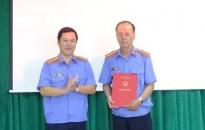 Bổ nhiệm viện trưởng VKSND huyện Kiến Thụy